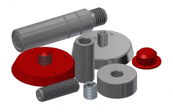 Accessories for Rebar Connection System