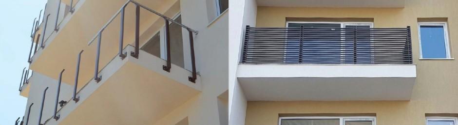 Balcony Column Fence Solution