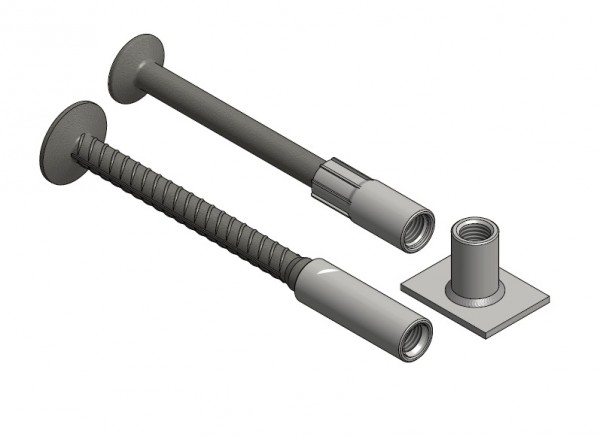 1D Lifting and Transport Anchors Heavy Duty