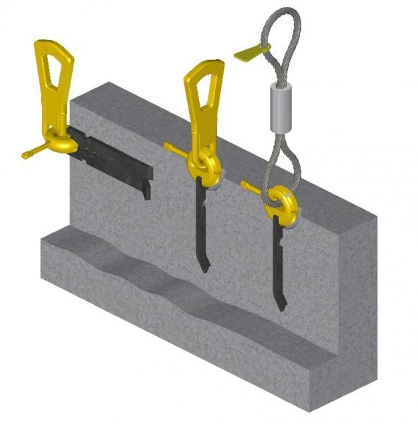 2D Strip Anchor Lifting System