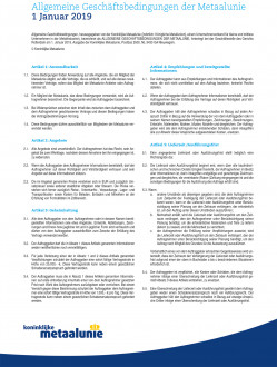 Metaalunie Terms and Conditions 2019 - German frontpage.jpg