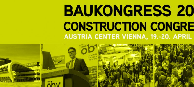 Baukongress 2018 Construction Congress