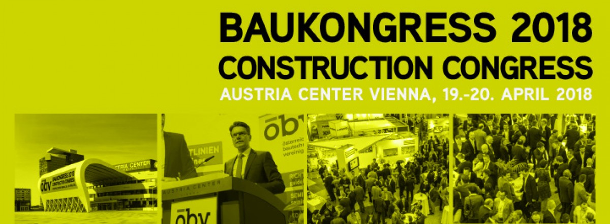BAUKONGRESS 2018 - Austria