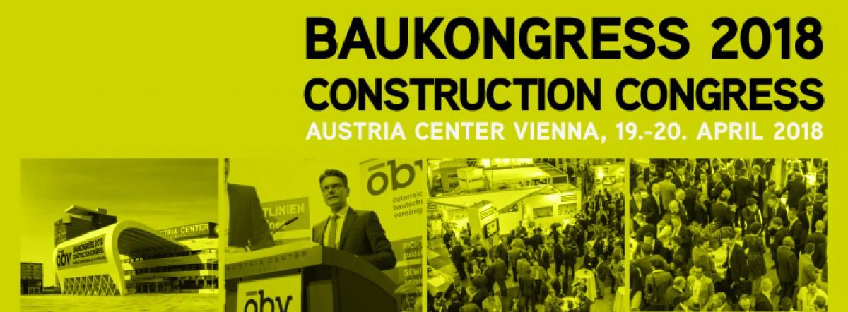 Baukongress 2018 Construction Congress